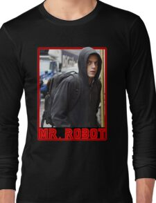 Mr Robot Elliot Alderson Long Sleeve T-Shirt