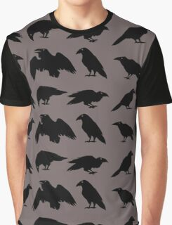 Bird Brains Graphic T-Shirt