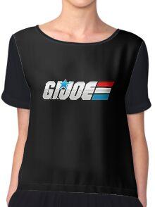 G.I. Joe Logo Chiffon Top
