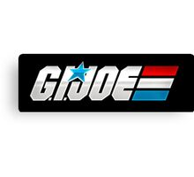 G.I. Joe Logo Canvas Print