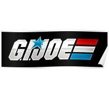 G.I. Joe Logo Poster