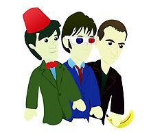 The Fez, The Specs, The Banana by Chris Singley