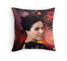 Lana Parrilla Firework Throw Pillow