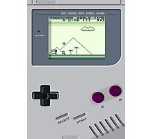 Gameboy is the best! Photographic Print