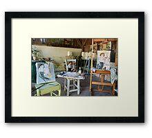 Master and pupil Framed Print
