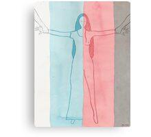 Balancing between reality and dreams Canvas Print