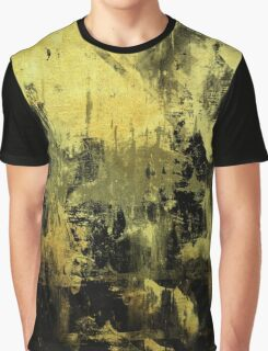 abstract gold /canvas Graphic T-Shirt