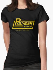 Polymer Records spinal Womens Fitted T-Shirt