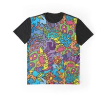 Psychedelic LSD Trip Ornament 0001 Graphic T-Shirt