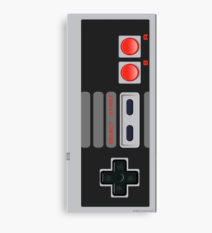 Nes joypad Canvas Print