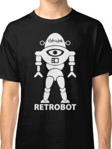RETROBOT (white) Classic T-Shirt