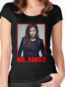 Mr Robot Dom Dipierro Women's Fitted Scoop T-Shirt
