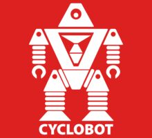CYCLOBOT (white) by jodalry