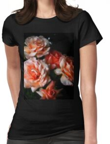 Regal roses Womens Fitted T-Shirt