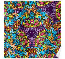 Psychedelic LSD Trip Ornament 0002 Poster