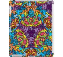 Psychedelic LSD Trip Ornament 0002 iPad Case/Skin