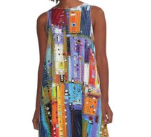 Color Obsession A-Line Dress