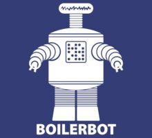 BOILERBOT (white) T-Shirt