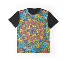 Psychedelic LSD Trip Ornament 0003 Graphic T-Shirt