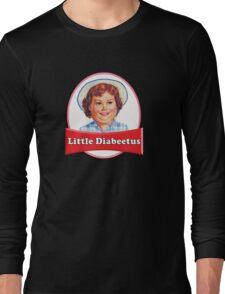 Little Diabeetus (little Debbie) 'lil debbie logo parody Long Sleeve T-Shirt