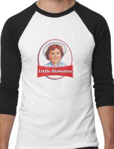 Little Diabeetus (little Debbie) 'lil debbie logo parody Men's Baseball ¾ T-Shirt