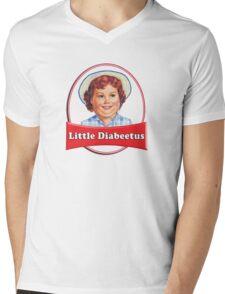 Little Diabeetus (little Debbie) 'lil debbie logo parody Mens V-Neck T-Shirt