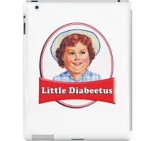 Little Diabeetus (little Debbie) 'lil debbie logo parody iPad Case/Skin