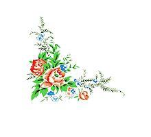 flower bouquet Photographic Print