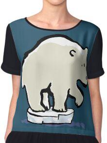 polar bear Chiffon Top