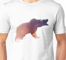 Bear - Mountain landscape Unisex T-Shirt