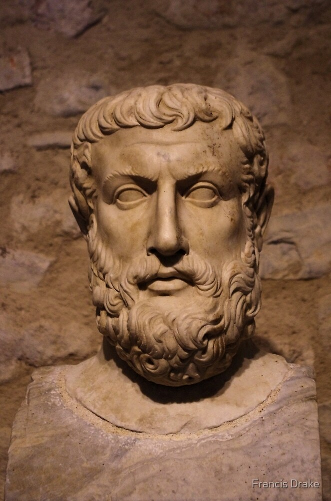 Portrait Of Parmenides by Francis Drake