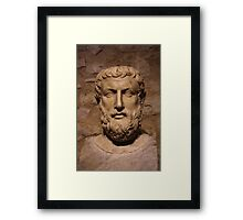 Portrait Of Parmenides Framed Print