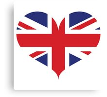 British Love Canvas Print