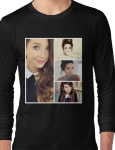 Zoella collage Long Sleeve T-Shirt