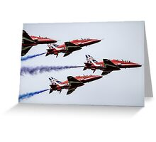 Read Arrows Formation  Greeting Card