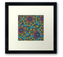Psychedelic LSD Trip Ornament 0005 Framed Print