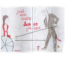 Wheelchair Tango Poster