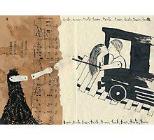 Triste, train, triste, train, triste, train Photographic Print