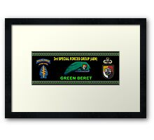 3rd Special Forces Group (Abn) Mug Design Framed Print