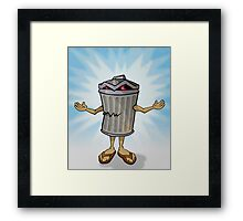 Trash Messiah Framed Print