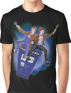 THE DOCTOR'S TIMEY-WIMEY ADVENTURE  Graphic T-Shirt