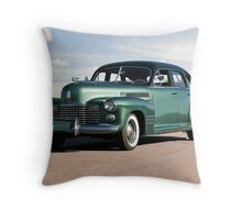 1941 Cadillac Series 61 Sedan Throw Pillow