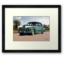 1941 Cadillac Series 61 Sedan Framed Print