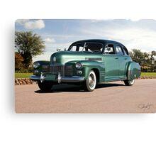 1941 Cadillac Series 61 Sedan Canvas Print