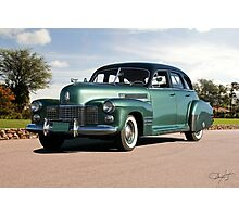 1941 Cadillac Series 61 Sedan Photographic Print