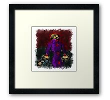Vox in excelso audita #pray4palestine Framed Print