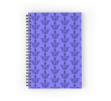 The Stone Mask Spiral Notebook