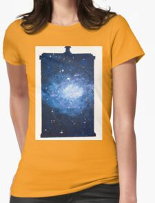 It's Bigger on the Inside Womens Fitted T-Shirt
