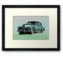 1941 Cadillac Series 61 Sedan 'Studio' Framed Print