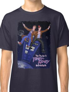 THE DOCTOR'S TIMEY-WIMEY ADVENTURE  (full cover) Classic T-Shirt